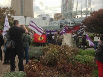 Elsipogtog solidarity demonstrations in Toronto