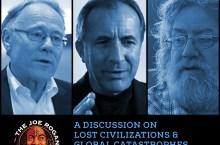A history redefining conversation between Graham Hancock, Michael Shermer, Randall Carlson and Joe Rogan