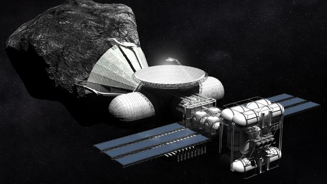 asteroid mining, space, resources, hydrogen, conference