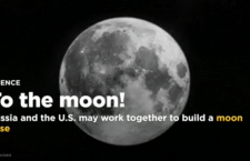 Russia and the US will work together to build a moon base