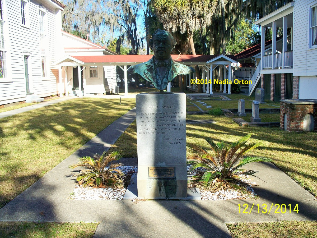 Beaufort, South Carolina: In Memoriam — Robert Smalls, Tabernacle Baptist Church Cemetery