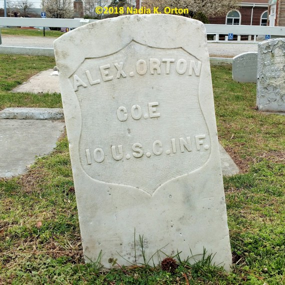 Portsmouth, Virginia: United States Colored Troops, Grove Baptist Church Cemetery
