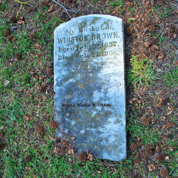 Northumberland County, Virginia: Pvt. Winston Brown, 1st U. S. Colored Cavalry