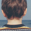 back of young boys head