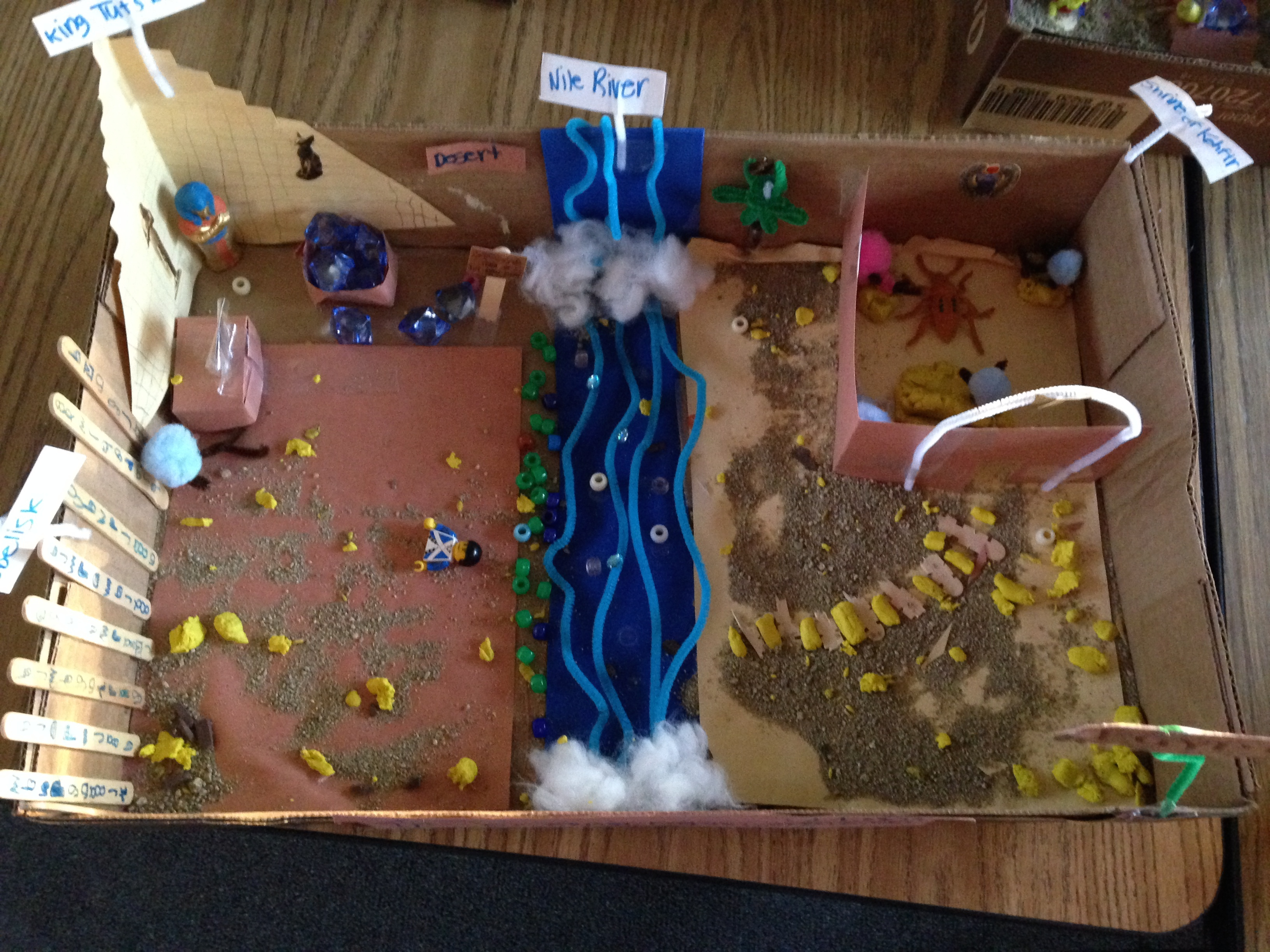 Ancient Egypt Diorama Fun