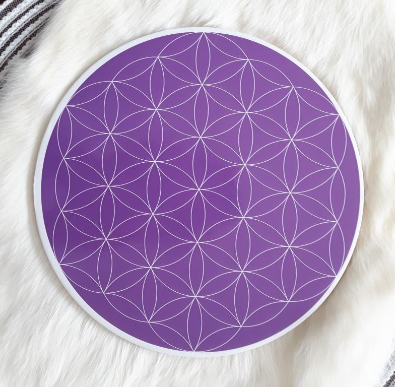 Crown Chakra Flower of Life Grid