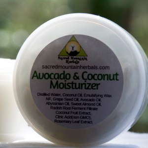 Avocado Coconut Moisturizer Body Face Moisturizing Lotion All natural Plant based