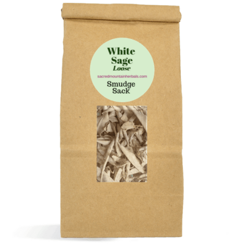White Sage Smudge Burn Loose Sage Smudging