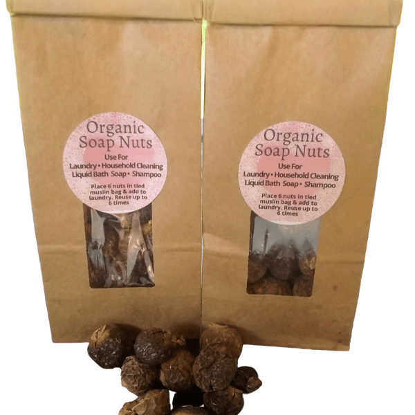 Natural Soap Nuts Berries Laundry Cleaning Liquid soap