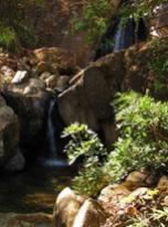 Sacred Waterfall at John of God in Brazil