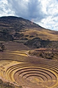 Moray, Peru; a mystic Incan place for experimental agriculture