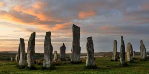Callanish Stone Circles in Scotland