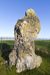 King's Stone, in Rollright stone circle, England