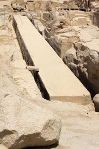 The unfinished obelisk, Aswan, Egypt