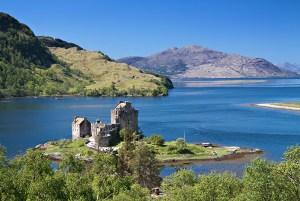 Eilean Donan Castle in Scotland - Scotland sacred sites tour   Sacred Mystical Journeys