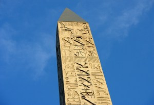 Sacred Tour of France - see the Obelisk of Luxor in Paris