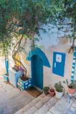 Street in Zefat (Safed), Israel, Center of kabbalah and artists