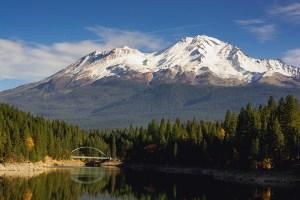 Mount Shasta modest lake bridge in California - Mount Shasta Spiritual Retreat | Sacred Mystical Journeys