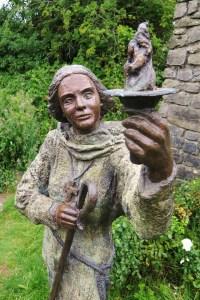 St. Brigid Bronze Statue in Kildare, Ireland - Sacred Mystical Journeys