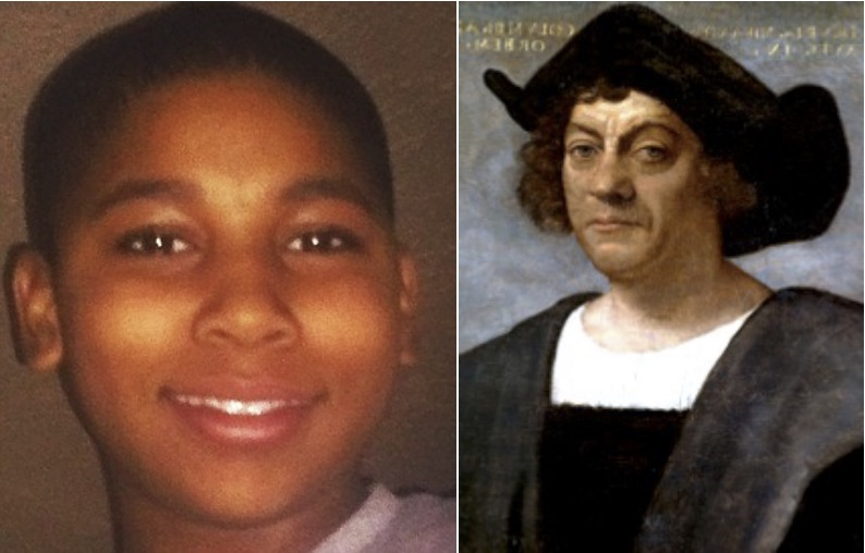 Tamir Rice Murder Was Justifiable and Christopher Columbus Has Holiday