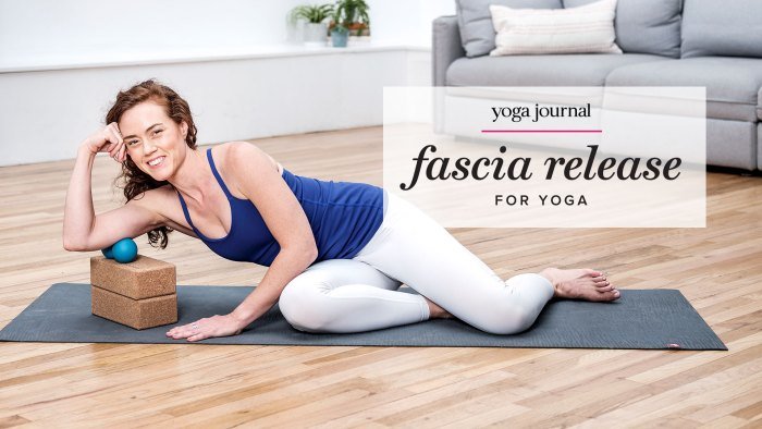 self myofascial release online course for yoga