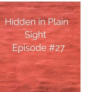 Hidden in Plain Sight Episode #27