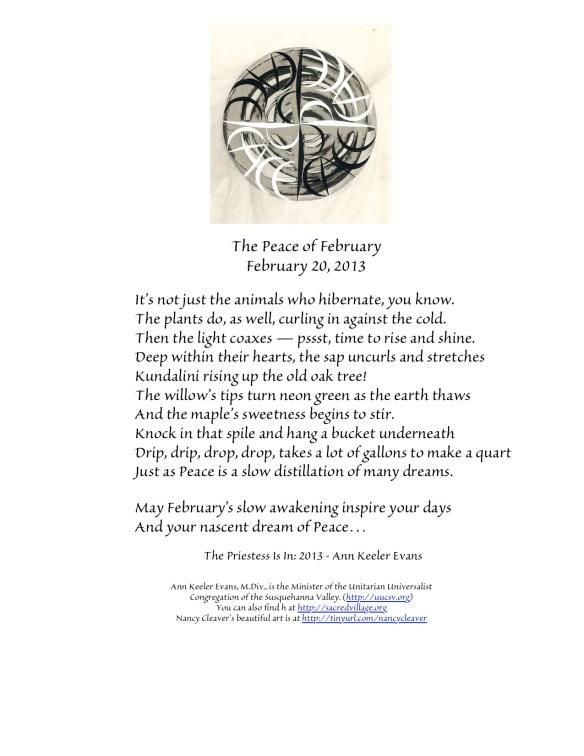 PeaceFebruary20