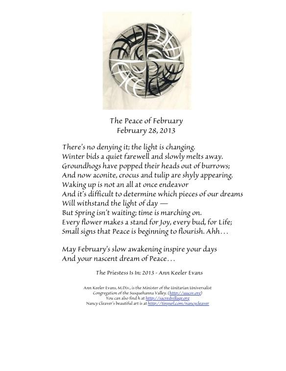 PeaceFebruary28