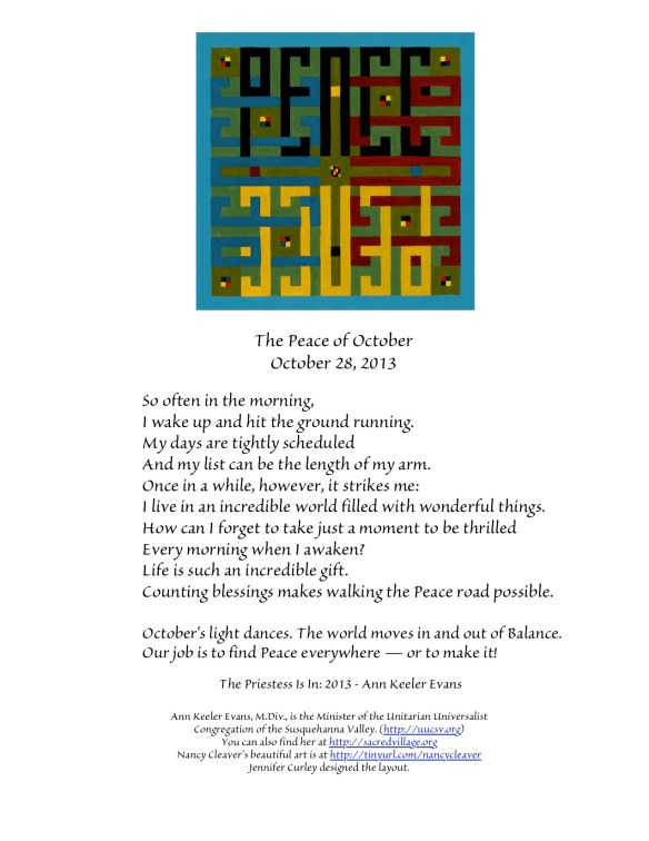 PeaceOctober28