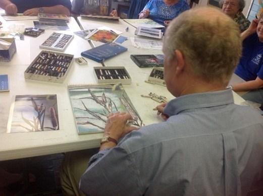 Ed Brummal art class 4