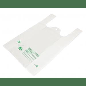 sacs biodegradables à bretelles