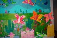 First grade mural