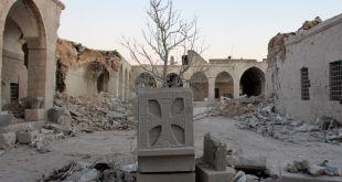 القصف دمر متحف المدينة - الأناضول
