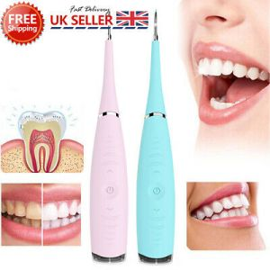 Electric Sonic Dental Calculus Remover Scaler Tooth Stains Tartar Tools Cleaning.