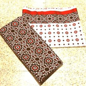 Unstitched Fabric Two Piece