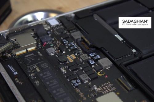 Mac Logicboard, Hauptplatine Reparatur