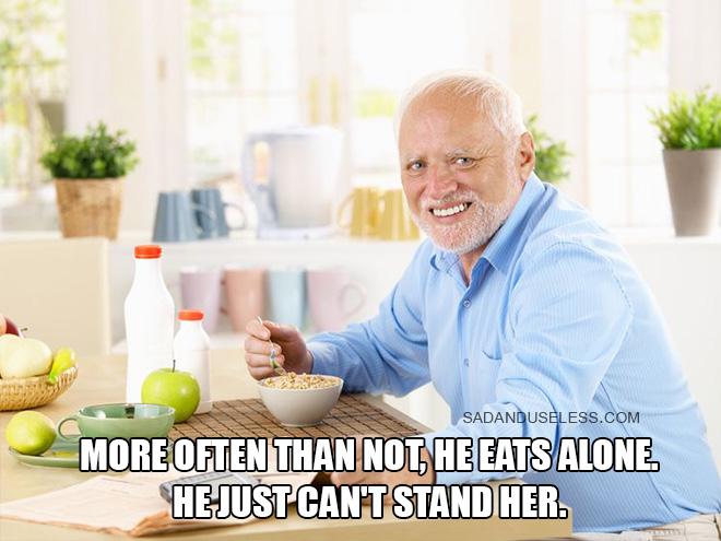 Meet Hide The Pain Harold