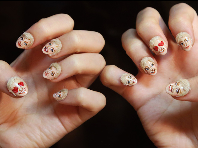 Brace Yourself Because Hair Nails Are Now A Thing