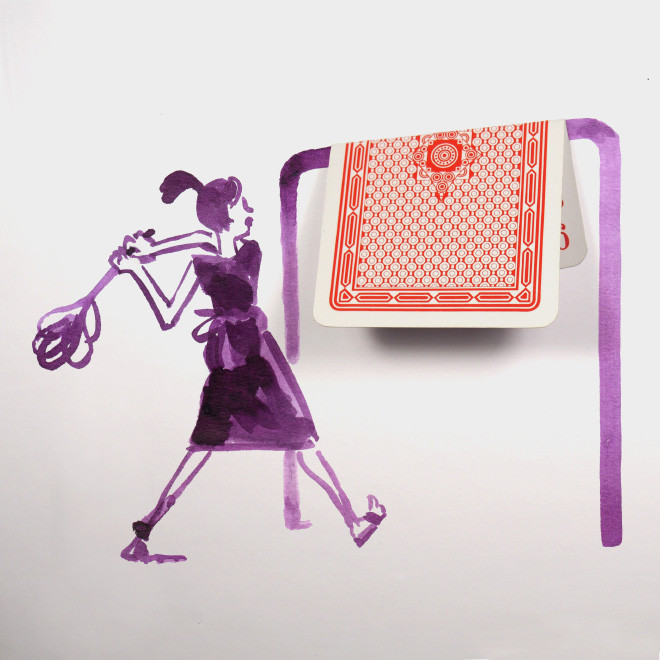 When everyday objects meet drawings...