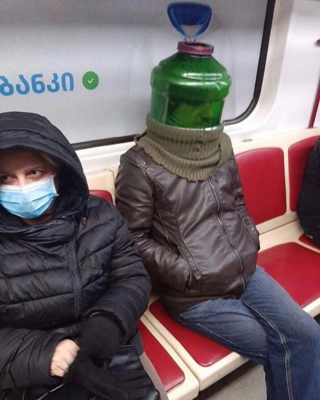 Masks are hard.