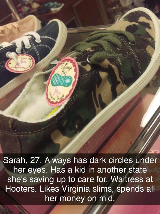What these type of shoes tell about the owner.