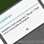 Cara Mengatasi Masalah Tidak Cukup Ruang Di Hp Android