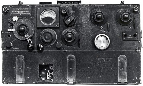 Wireless Set No. 1 a Portable transmitter/receiver developed in 1933
