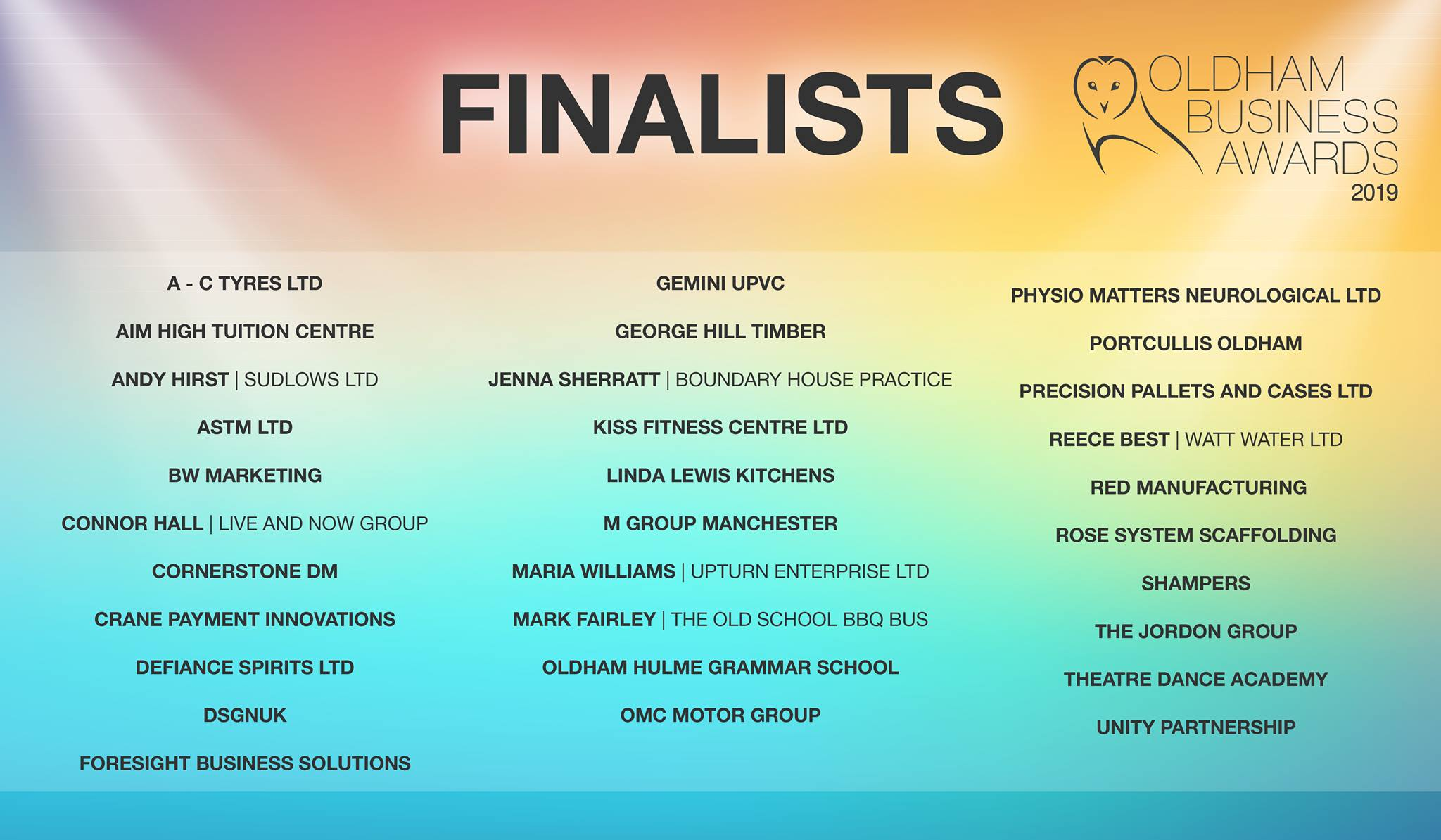 Finalists unveiled ahead of annual business awards – Saddleworth