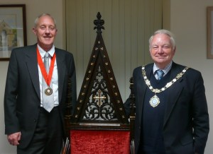 ALL CHANGE:  Cllr Sheldon takes over from Cllr Lord