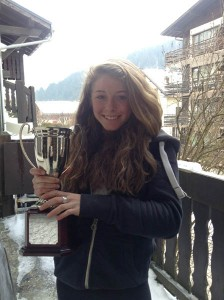 SKI CHAMPION....national champion Erika Heginbotham