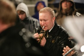 BRASSED OFF: Mark Rodgers