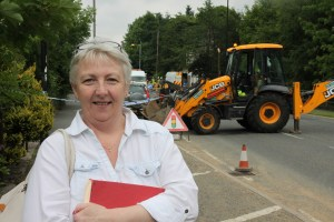 SURPRISED: Sue Ellis had to evacuate customers from her pub when gas engineers arrived