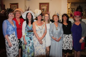 BELL'S BELLES: Chairman's Lady Diane Sheldon (centre left) and Oldham Mayoress Kathleen Hudson (centre right) with the Ladies Day group at The Old Bell Inn