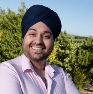 KEEN CHEF: Sukhi Singh from Dobcross